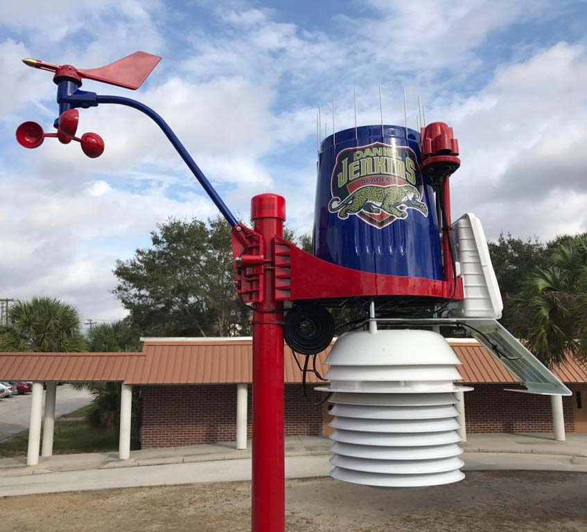 WeatherSTEM comes to technology school