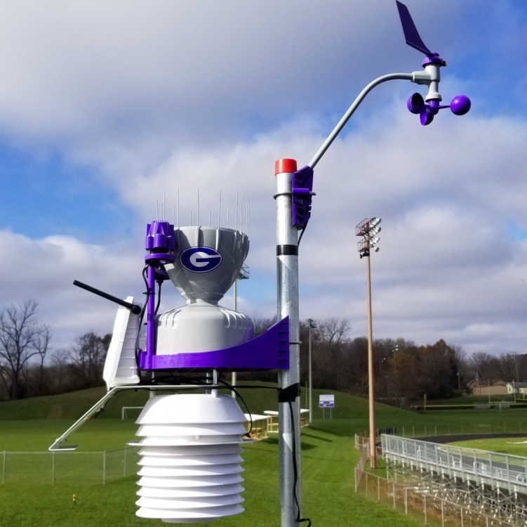 Greencastle Middle School adds weather station