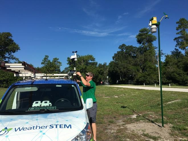 Weather station gives Deltona students downpour of data