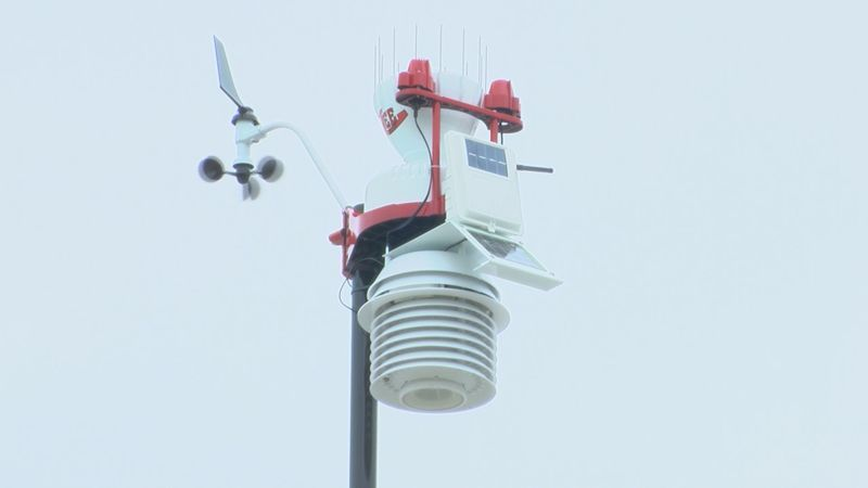 Lee Co. Middle School East receives new weather station