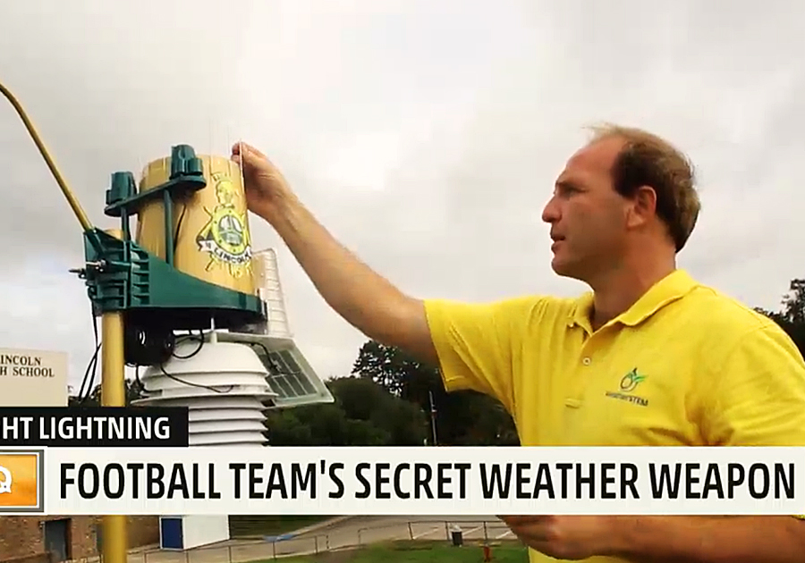 Football Team's Secret Weather Weapon
