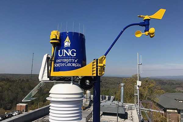 New weather stations collect data on UNG campuses