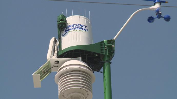 New weather station in DeFuniak Springs WeatherSTEM Station