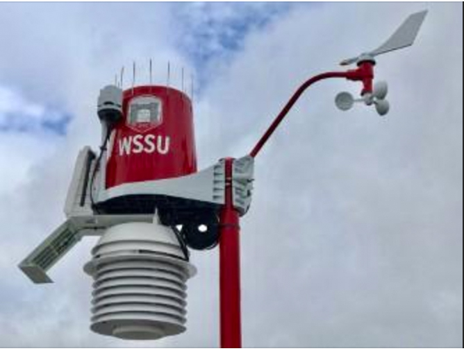 Triad university installs high-tech weather monitoring system
