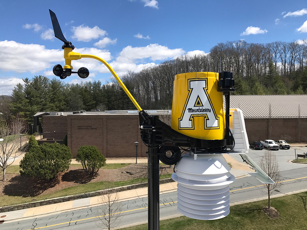 Appalachian State Uses WeatherSTEM App to Help Protect Students