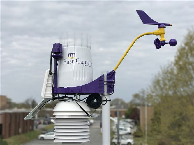 New weather station brings detailed data to ECU