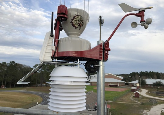 WeatherSTEM stations installed at all Escambia County high schools