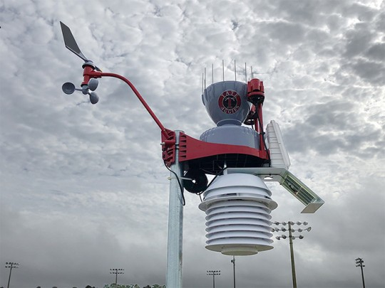 Weather Stations Installed At All Escambia District High Schools