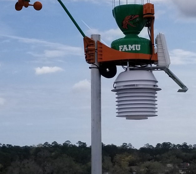 FAMU Installs WeatherSTEM System To Provide Real Time Information About Storm Activity