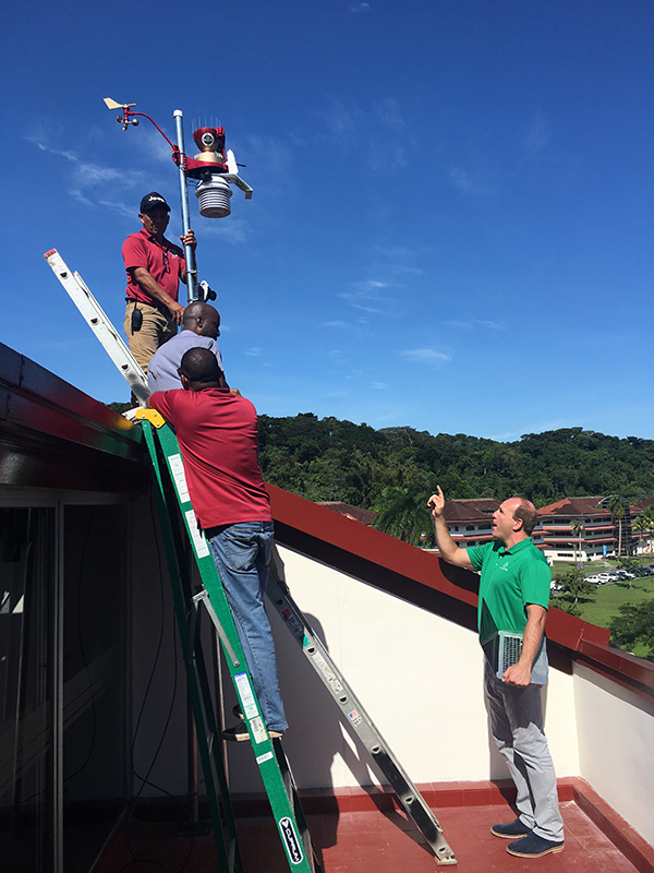 WeatherSTEM launches first international station at FSU-Panama