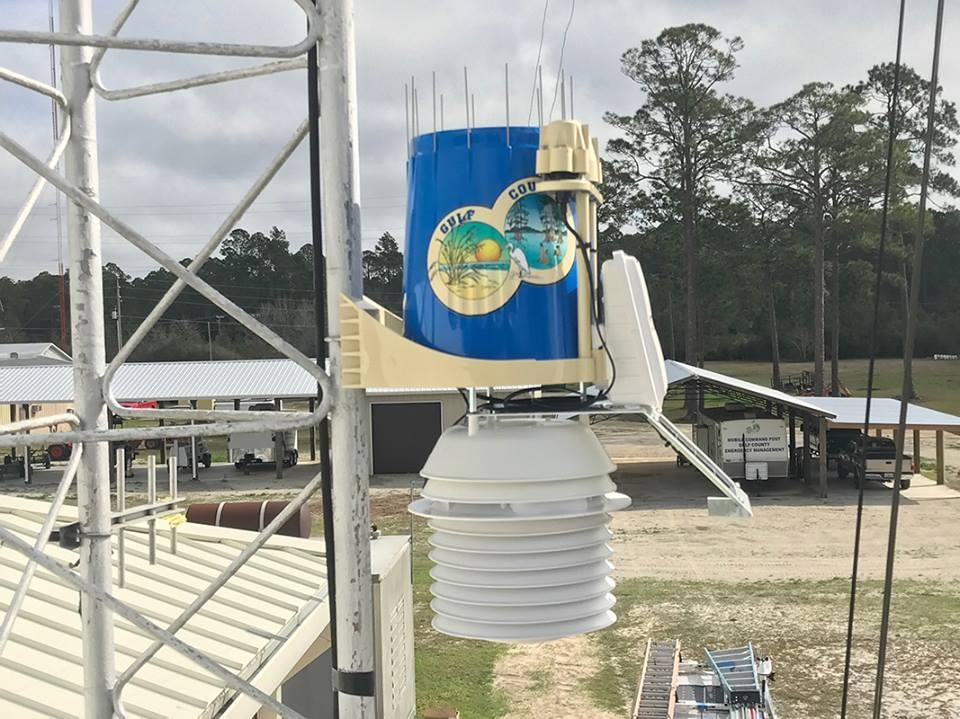 County EOC receives WeatherSTEM system