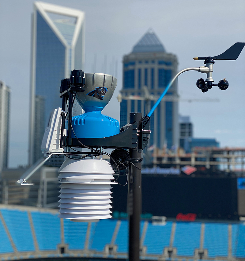 Bank of America Stadium installs WeatherSTEM system for real-time weather monitoring