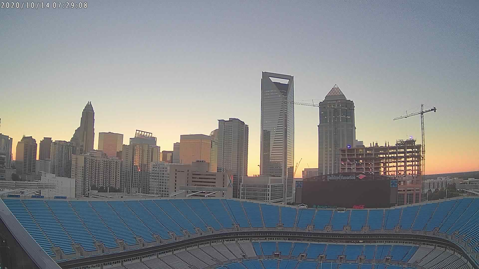 Bank of America Stadium uses high-tech weather station to keep fans, players safe