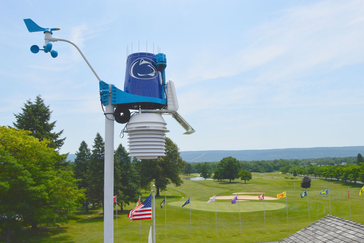 WeatherSTEM station to help improve golfer safety at Penn State Golf Courses