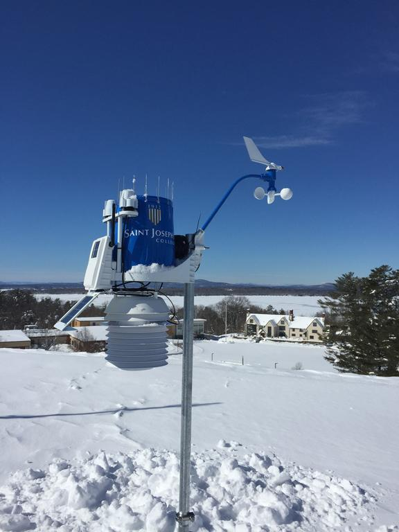 Weather station gives St. Joes high-tech eye in sky