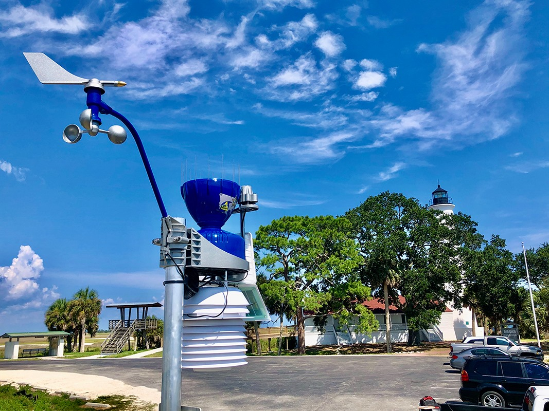 Weather and Live Views from St. Mark's Lighthouse