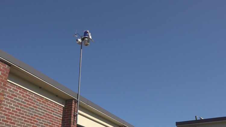 WeatherSTEM station in Sumter makes science class more interactive