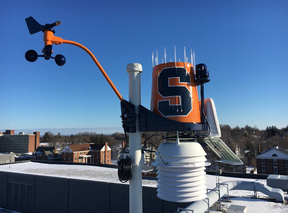 WeatherSTEM at Syracuse University