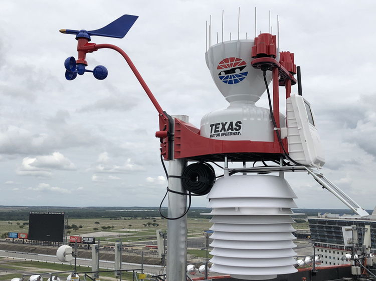 TMS BECOMES FIRST MOTORSPORTS VENUE TO INCORPORATE WEATHERSTEM TECHNOLOGY TO AID FANS, INDUSTRY