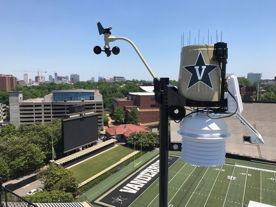 WeatherSTEM startup brings technology to Vanderbilt