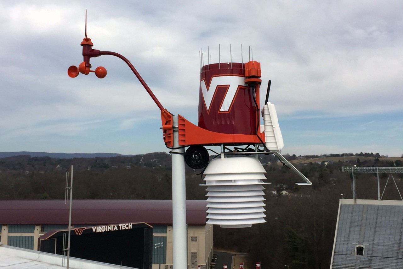 Virginia Tech WeatherSTEM Unit